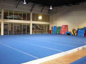 Skills mats of all shapes and sizes help athletes of all ages safely learn new skills!